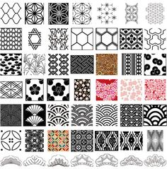 vintage geometric wallpaper designs