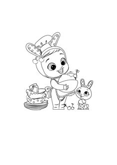 Coney-pintar Cry Baby, Copic, Cartoon Drawings, Doll Patterns, Baby Dolls, Crying, Coloring Pages, Pony, Snoopy