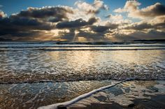 'Stretching Across The Bay' - Newborough Beach, Anglesey  by Kristofer Williams