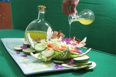 Pili Oil as Salad Dressing