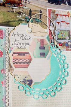 Creatively Savvy: My Treasures Album *DCWV Vintage Collector