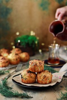 Muffins, Cupcake, Breakfast, Smoothie, Food, Morning Coffee, Muffin, Cupcakes, Essen
