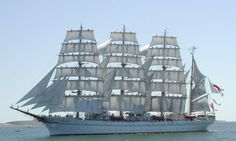Kaiwo Maru is a Japanese four-masted training barque tall ship. She was built in 1989 to replace a 1930 ship of the same name.