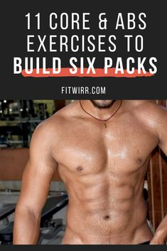 11 Best Core and Ab Workouts for Men [Six-Pack Abs] 11 core and abs exercises to build six packs and get super shredded, defined abs, perfect for summer beach days. These abs workouts target your abs, obliques, and even core for stronger upper body. Shred Workout, Sixpack Abs Workout, Ab Core Workout, Oblique Workout, Best Ab Workout, Gym Workout Tips, Abs Workout For Women, Ab Workouts, Men Exercise