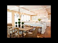 New Kitchen Design With Island Open Concept Dining Tables Ideas - Kitchen Table - pasta / Italian - Island Kitchen Ideas Home Kitchens, Kitchen Island Design, New Kitchen, Kitchen Interior, Interior Design Kitchen, White Kitchen, Home Decor, Dining, Trendy Kitchen