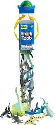 Shark Toob at theBIGzoo.com. Cupcake toppers, cake decoration, table confetti, party favors... Let your imagination run wild!