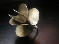 Ring | Maria Soledad Rodriguez.  Sterling silver and alpaca.