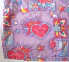 Scrub Top 2X Floral Womans Uniform Medical Nurse Cotton Hearts Vet Used Purple   eBay