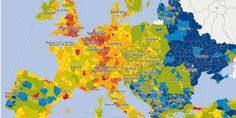 Le contraste entre l'Europe occidentale et l'Est persiste. En France, la région parisienne reste la plus riche du pays. Europe Occidentale, Paradis Fiscal, Europe Centrale, France, Bucharest, French