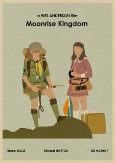 We love this Moonrise Kingdom fan art!