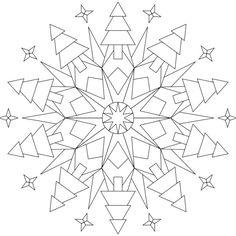 Mandala-Ausmalbild Nr. 127