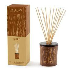 Esteban Cedre Scented Decorative Bouquet Diffuser 3.3 oz by Esteban. $48.00. Buy Esteban Home Fragrance & Diffusers - Esteban Cedre Scented Decorative Bouquet Diffuser 3.3 oz