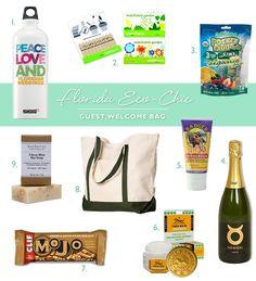 Florida Wedding Gift Bag Ideas : Wedding Welcome Bag on Pinterest Welcome bags, Wedding welcome bags ...