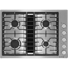 "Jenn-Air® 30"" Gas Downdraft Cooktop-Stainless Steel-JGD3430BS"