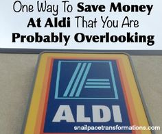 Yes just shopping at ALDI can save you money but there is one more step to save money at ALDI that you can take to save you even more on your groceries.