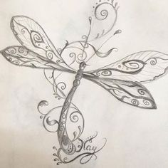 free I fly Dragonfly Illustration, Dragonfly Drawing, Dragonfly Tattoo Design, Dragonfly Art, Tattoo Designs, Henna Designs, Celtic Tattoos, Rosary Tattoos, Crown Tattoos
