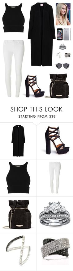 """""""Untitled #840"""" by mtbcastro-goncalves ❤ liked on Polyvore featuring Aquazzura, Jonathan Simkhai, Dorothy Perkins, Lanvin, Yvonne Léon, Mark Broumand and Christian Dior"""