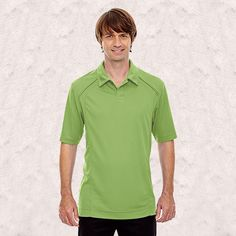 Ash City-North End Sport Red-Mens Recycled Polyester Performance pique Polo-88632