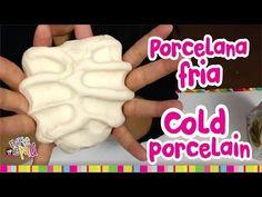 How to make COLD PORCELAIN / Como hacer PORCELANA FRIA (Resistente y Mejorada) - YouTube. Otra receta de porcelana fría.