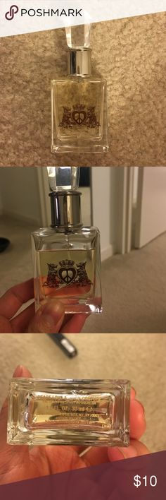Juicy Couture Perfume Peace Love & Juicy Couture perfume, size is 1 fl. oz. or 30 mL. Has more than 3/4 left! Juicy Couture Makeup