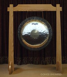 Paiste Symphonic Gong on Unlimited One Stand from Gongs Unlimited. Woodworking Magazine, Fine Woodworking, Box Studio, The Cosby Show, Red Oak, Circle Design, Clock, The Incredibles, Google Search