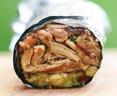 The Gran Luchito Ultimate Chicken Burrito