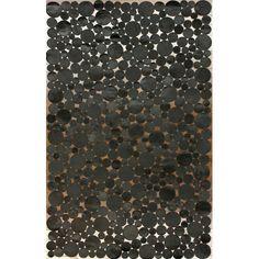 Found it at Wayfair - Hides Bubbles Black/Grey Geometric Area Rug