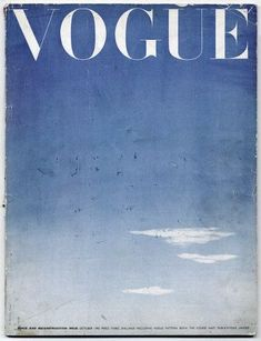 Filippa K inspiration - The look of now: Workwear blues British Vogue October 1945 Peace and Reconstruction Issue Schiaparelli Photo Wall Collage, Picture Wall, Marine Style, Dolly Sisters, Free Sky, Graphisches Design, Graphic Design, Blue Aesthetic Pastel, Lee Miller