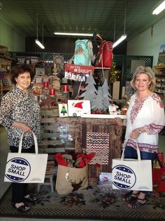 Looky here! The China Basket was given their Shop Small bags for their wonderful customers!😊 #shopsmall #GonzalesTX