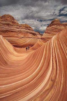 The Wave, Utah.