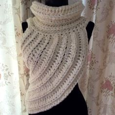 SALE  Ready to ship : Huntress Cowl  wool vest by JoJOZoo on Etsy