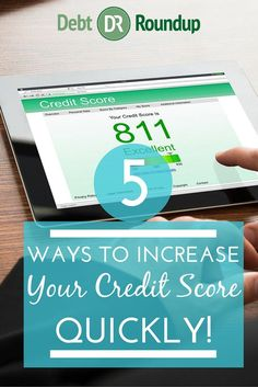 Your credit score is more important than you might have thought. Want a high credit score, but not sure how to get there? Here are 5 ways to increase your score quickly.