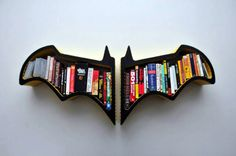 a Batman bookshelf! why the fuck not?