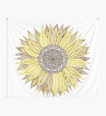 Sunflower Mandala Wall Tapestry High quality Sunflower inspired Wall Tapestries by independent artists and designers from around th. Dorm Tapestry, Tapestry Bedroom, Tapestries, Sunflower Room, Sunflower Mandala, Sunflower Tattoos, Bedroom Themes, Home Decor Bedroom, Sunflowers