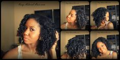 Alicia's James bantu knot out. #OfficiallyNatural #BantuKnotOuts #NaturalHair