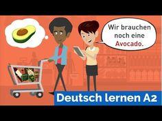 Deutsch A2, Learn German, Go Shopping, Ten, Youtube, It Cast, Family Guy, Learning, Shopping