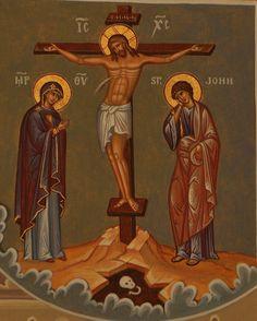Religious Pictures, Religious Icons, Religious Art, Orthodox Catholic, Catholic Art, Tree Of Jesse, Jesus Calms The Storm, Roman Church, Crucifixion Of Jesus