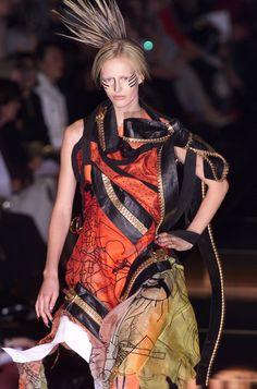 John Galliano at Paris Spring 2001