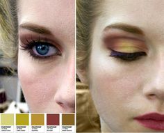 This year, deep in your brushes in #marsala, color of the year 2015, and join me in diving in its euphoric shade. This is a #makeuptip on how to combine it perfectly with light olive green or gold #eyeshadow. For more #color #palettes & #makeup #tips read http://www.antigonilivieratou.com/index.php/en/newsen/189-news20150129-en