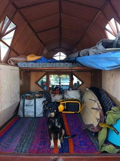 Spotted an L.L.Bean Boat and Tote in Jay Nelson's Dreamy Mobile Surf Shack.  Via Adventure Journal