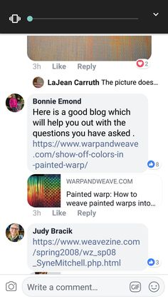 Painted Warp, Off Colour, Weaving, Blog, Blogging, Loom Weaving, Crocheting, Knitting, Hand Spinning