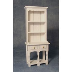 White 2 Drawer Dresser - Dressers - Dressers - Dolls' House Furniture - Dolls House Emporium