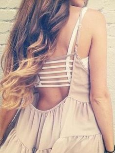 White Strappy Back Crop Top | Choies