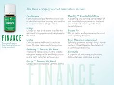 Young Living Essential Oils: Oola  Finance Infused 7 Collection