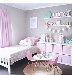 One Room, Three Looks: A Cotton Candy-Inspired Girl\'s Room | Quartos ...
