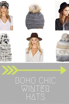 9 Fabulous Boho Chic Winter Hats