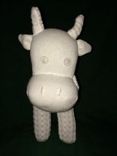 Poodle Sock Cow by FeisysFriends on Etsy