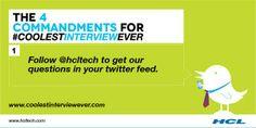 #Digitalmedia #socialmedia #coolestinterviewever @HCL Technologies