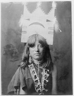 Native American Edward Curtis Tablita Dancer by griffinlb, via Flickr