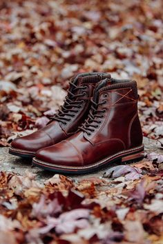 Whether you're raking leaves or going out for the night, the Crevo Footwear Camden boots are a go-to -- the perfect blend of style and ruggedness.